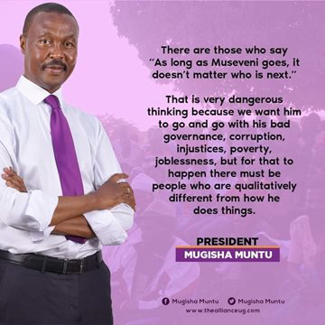 Who is the best choice to succeed Yoweri Museveni